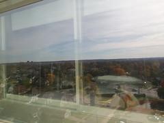 11-10-17 Dayton 07 fall color (Chicagoan in Ohio) Tags: dayton clouds sun sunhalo leaves fallcolor