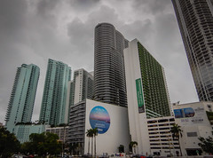 Condo Towers along Bayshore Dr - Miami FL (mbell1975) Tags: miami florida unitedstates us condo towers fl along bayshore dr fla condominium office building buildings condos tower apartment apartments overcast clouds cloudy rainy