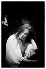 portrait (Angelo Petrozza) Tags: portrait ritratto blackandwhite biancoenero bw hair hd70mmlimited angelopetrozza eyes occhi contrast contrasto luce light