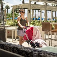 Tenderfoot (mangoldm) Tags: baby babies mom moms stroller