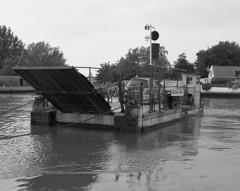 Reedham Ferry (DH73.) Tags: reedham ferry norfolk river yare 6x7 rangefinder camera 100mm mamiya press lens 1500th sec f11 ilford delta 400 id11 11 14mins 68°f