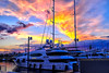 When it is impossible to refuse the invitation to shoot (Fnikos) Tags: port porto puerto harbour harbor sky skyline cloud sunset atardecer ship boat light city building architecture outdoor