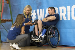 180604-D-DB155-010 (DoD News Photos) Tags: dodwg18 2018dodwarriorgames dodwarriorgames warriorgames woundedwarriors colorado coloradosprings dedication triumph overcomingadversity fortitude sports track field airrifle marksmanship wheelchairbasketball sittingvolleyball powerlifting cycling bicycling archery swimming rowing indoorrowing unitedstates
