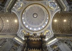 Basilica of St Peter (albireo 2006) Tags: roma rome vatican vaticano dome cupola sanpietro stpetersbasilica basilicaofstpeter