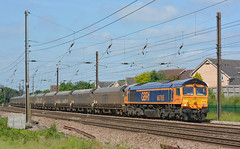 Fast Work (Feversham Media) Tags: dringhouses york class66 66765 sheds freighttrains yorkshire northyorkshire gbrf