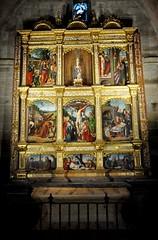 Astorga (León-España). Catedral. Retablo Hispanoflamenco, 1530. Maestro de Astorga (santi abella) Tags: astorga león castillayleón españa catedraldeastorga retablos