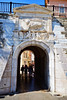 Zadar: Sea Gate (ARKNTINA) Tags: zadar zadarcroatia dalmatia europe croatia hr18 eur18 random6 city building architecture fortifiedcity seagate gate citygate wall citywall
