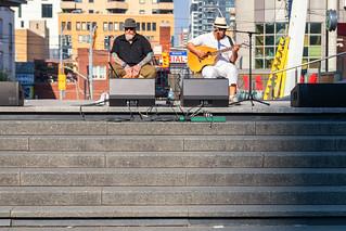 Entertainment at Yonge-Dundas Square