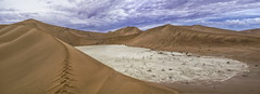 DSC_6939  Sandy path (NordVei) Tags: sandy path sossusvlei namibia sand dune desert nikkor outdoor view africa mountain panorama cloudy