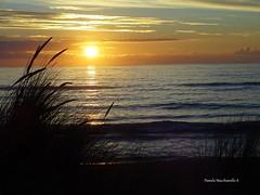 Sunset (pamelamacchiavello) Tags: sun sunset cloud sea ocean pacific