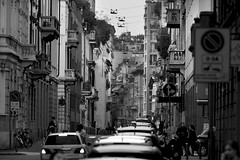 Streets of Milan (Janis Engel) Tags: sony sel70200g ilce7rm2 a7rii a7