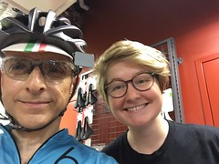 Me and Riley (Mr.TinDC) Tags: selfie me ted mrt mrtindc riley friends people cyclists contes