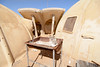 Q: Namibia or Mars? Hint: You can't braai on Mars. (alex1derr) Tags: namibia skeletoncoast dome dormitory hut mine miningcamp structures sciona