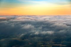Cloud Deck (jeanineleech) Tags: piperarcher aerial aerialview aircraft airplane flight fly flying sky soar pennsylvania usa clouddeck clouds cloudy cloud settingsun sunset ground 4 000ft altitude
