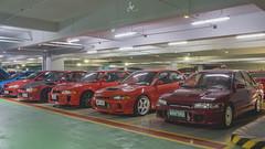 Mitsubishi Lancer Evolution II, IV, V, VI, VII (Justin Young Photography) Tags: cars manila philippines mitsubishi lancerevolution evoii ce9a evoiv cn9a evov evovi tommimakinen tme cp9a evovii ct9a