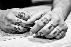 2018☯116 (ruggeroranzani_RR) Tags: digital blackandwhite nikond700 nikon af nikkor 50mm 118 d man tattoo hand