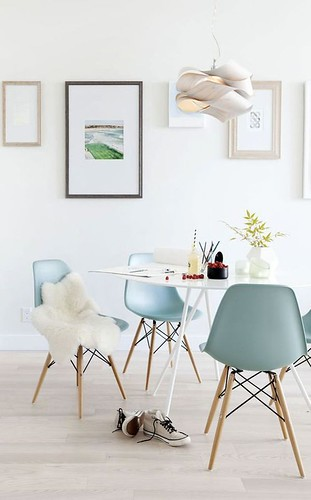 Dining  Furniture : Pastels colors. Who left that shoes on the floor? #LaCasaModerna #Sea #Sunshine ...