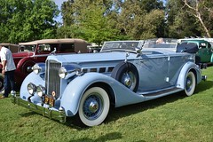 8th Annual San Marino Motor Classic (USautos98) Tags: 1935 packard supereight dualcowl phaeton