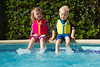 Frances and William Splashing (Jon Pinder) Tags: menorca holidat sun canon eos7d 1755mm