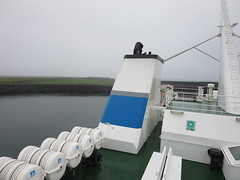 Catching the ferry to the Westman Islands, Iceland (Travel writer at KristineKStevens.com) Tags: iceland ferry westmanislands vestmannaeyjar