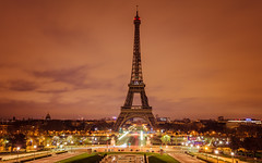 Eiffel at night (fried oreo cookie) Tags: eiffel paris france holiday sightseeing touring tour travel europe tower long exposure canon 5dsr dslr tripod cityscape wide french wow impressive view