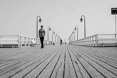 Pier (Rien van Voorst) Tags: pier balticsea ostsee oostzee streetphotography straatfotografie strasenfotografie fotografíacallejera photographiederue fotografiadistrada monochrome sopot