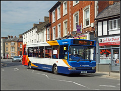 Getting to The Point................ (Jason 87030) Tags: tothepoint tattoo dart slf dennis s22abc stagecoach midlands rugby warks street sony ilce weather may 2018 warwickshire town centre shops roadside 34817 alpha a6000 wheels bus publictransport 3 hillmorton