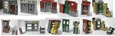 The Doors - Advanced Lego Doors (ranghaal) Tags: brokenhome earthquake doors technique
