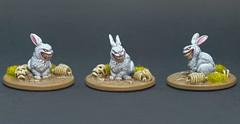 Zombicide Green Horde - Abominabunny (PeteB187) Tags: cmon coolminiornot fantasy blackplague boardgames zombie abomination rabbit survivor