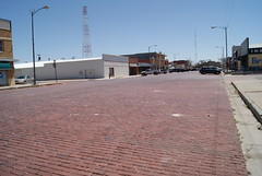 Brick Streets of Spearman (ednurseathkh) Tags: texas texashistoricalmarker hansfordcounty brickstreetsofspearman 18x28 spearman streets northwestenconstructionco