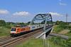 189 821 (René Große) Tags: brücke train rail railways lok siemens 189 es64f4 güterzug schandelah niedersachsen deutschland germany