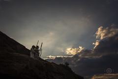 DSC_5438-1 (kapper22) Tags: star wars beack yoda sky blue sand landscape outdoors early sunrise grass