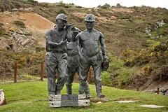 Los mineros de la Florida, Cueva del Soplao, Cantabria (Carlos SGP) Tags: españa es cantabria cuevadelsoplao caves mineros escultura estatua esculturas minas sierradearnero
