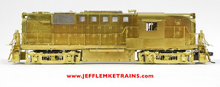 Rarest HO Brass Diesel Model by Overland? Pilot Model of the Alco DL-701 / RS11 from 1989