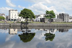 Spanish Arch, Galway. (lisakinneen3) Tags: trees river reflections clouds galway ireland spanisharch