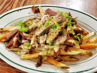 smoked brisket cheese fries
