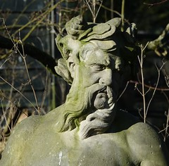 The brother of the sun lover (eric zijn fotoos) Tags: holland statue beeld artis sonyrx10m3 nederland noordholland garden kunst tuin art