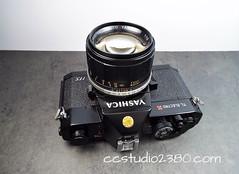 Yashica's Best - TL Electro X ITS with Tomioka f1.2 (http://www.yashicasailorboy.com) Tags: yashica tomioka lens 35mm film camera tlelectroxits autoyashinon f12 55mm optics 1960s
