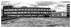 Abandoned Office, Birmingham City Centre (Scphoto_uk) Tags: xf27mmf28 birmingham city centre car park abandoned blackwhite