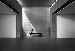 Incidence of light (Hendrik Lohmann) Tags: streetphotography bnw blackandwhite monochrome light sunlight fineart urbanart nikon urban people