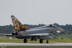 Spanish Tiger EF-2000 (maclapt0p) Tags: fighter aircraft spain plane 1431 typhoon poznan ntm2018 ef2000 poland specialtail eurofighter polen