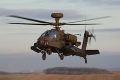 ZJXXX_WAH-64Apache_BritishArmy_SPTA (Tony Osborne - Rotorfocus) Tags: agustawestland leonardo wah64 ah64 apache longbow british army air corps salisbury plain training area spta exercise pashtun jaguar