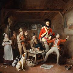 Soldiers in the tavern (jaci XIII) Tags: soldados taberna pintura grupo pessoas cão animal soldiers tavern painting group people dog
