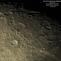 Moon_Tycho_SLH_May2018_HomCavObservatory (homcavobservatory) Tags: homcav observatory lunar moon tycho southern highlands scheiner schiller 8 f7 criterion reflector asi290mc prime focus astronomy astrophotography losmandy g11