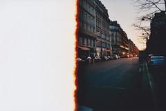 Reel life (@GrailK) Tags: contax139 film vista agfa paris france sunset street road analog firstroll burnt 400iso