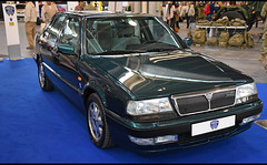 Lancia Thema Turbo 16v LS (baffalie) Tags: auto voiture ancienne vintage classic old car coche retro expo italia sport automobile racing motor show collection club italie vérone fiera
