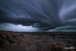 Badlands Shelf Cloud