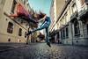 Belen (andresinho72) Tags: portrait portraiture retrato ritratto fujifilm danza baile salto jump artistic colors colori streetphotography