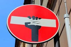 Urban (Alax66) Tags: urban cartello divieto street colors art streetart parma