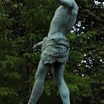 9 - Paris - Jardin du Luxembourg - L'Acteur grec par Charles-Arthur Bourgeois (1868), Bronze thumbnail